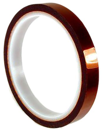 Amber Electrical Tape, 50mm x 33m product photo