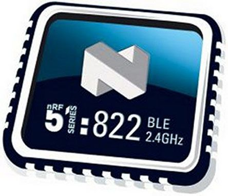 Nordic Semiconductor NRF51822-QFAC-T , Bluetooth System On Chip SOC for  Beacons, Computer Peripherals, I/O Devices,