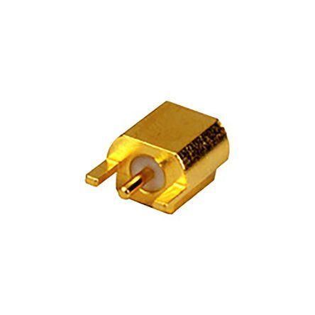 MCXSeries, Surface Mount MCX Connector jack, 50O Impedance, Crimp Termination, 0 -> 6GHz product photo
