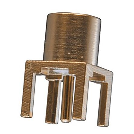 MCXSeries, PCB Mount MCX Connector Plug, 50O Impedance, Solder Termination, 0 -> 6GHz product photo