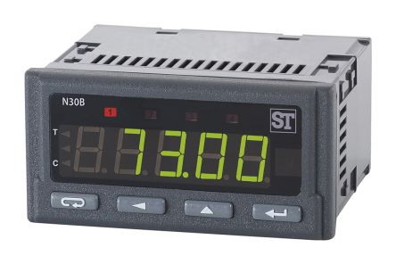 RN30B-102900E8, 2 Channel, Chart Recorder Measures Current, Humidity, Resistance, Temperature, Voltage product photo