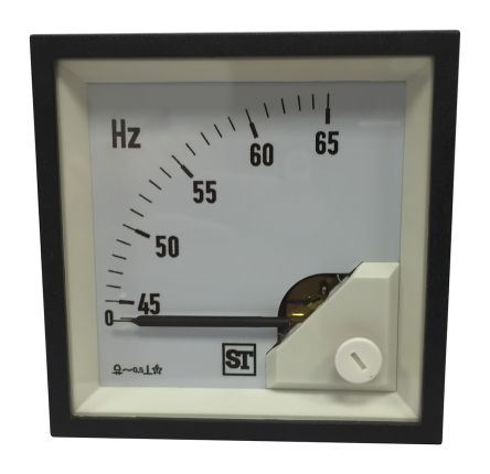 Sifam Tinsley Frequency Meter, 45mm x 45mm