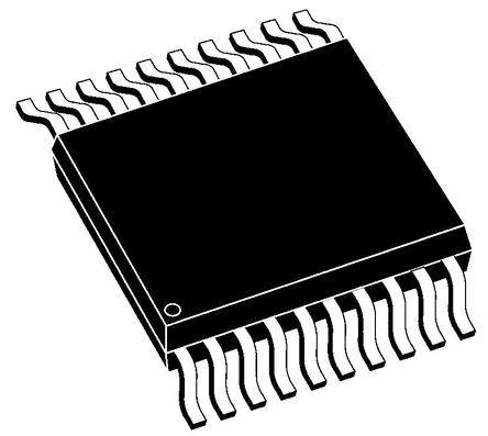 Microchip, 8-Channel I/O Expander 10MHz, SPI, 20-Pin SSOP