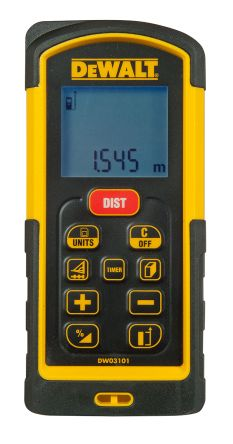 Dewalt DW03101-XJ Laser Measure, 10 -> 100 m Range, ±1 mm/m Accuracy product photo