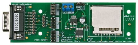 Matrix, E-blocks MMC/SD Card Reader Demonstration Board, EB037