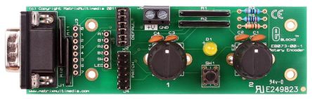 Matrix, E-blocks Rotary Encoder Demonstration Board, EB073