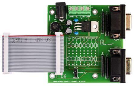 Matrix, E-blocks Raspberry Pi Interface Expansion Board, EB380