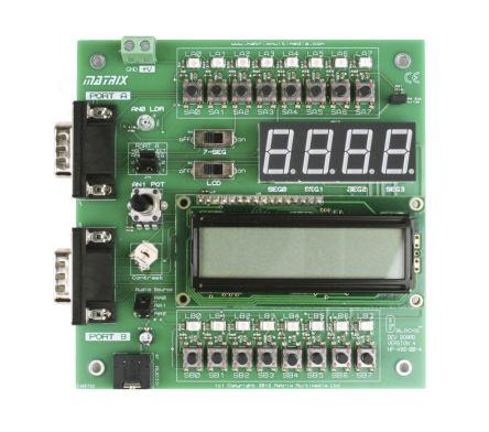 Matrix EB083, E-block Combo Monochrome LCD Display Module