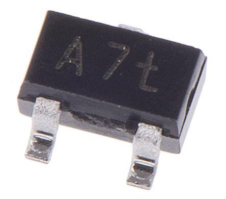Toshiba Tranzystor NPN 50 V 150 mA HFE 70 SOT-323 SC-70 2SC4116-BLTE85L,F 3-Pin 50