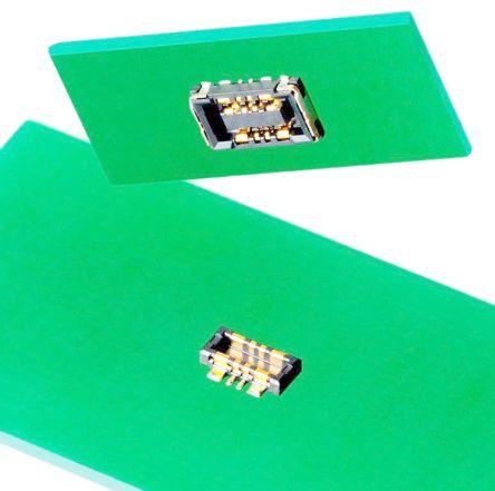 Molex, SlimStack, 505006, 8 Way, 2 Row, Vertical PCB Header