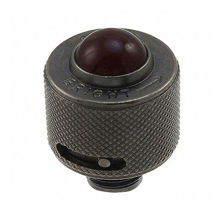 Indicator Lens & Lampholder Combination, Red Domed Lens