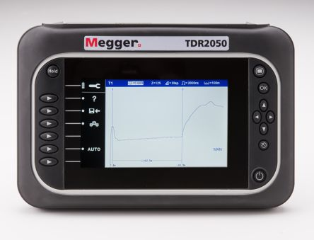Fault Locating Truck : Megger tdr tdr cable fault locator m rs