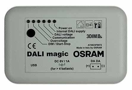 Osram DALI MAGIC/220-240V DIM, Constant Current Dimmable LED Driver Module 1.5 → 90W 54 → 240V