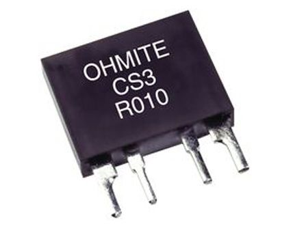 Ohmite CS3 Series Radial Wirewound Resistor 10mΩ ±1% 3W ±60ppm/°C