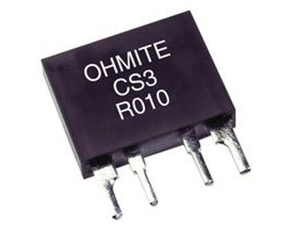 Ohmite 10mΩ 3W Wirewound Wirewound Resistor ±1% ±60ppm/°C CS3FR010E