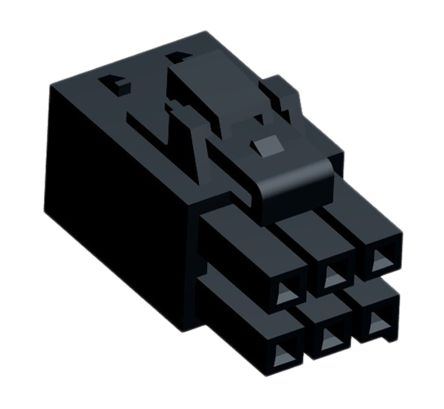 Molex Ultra-Fit Female Connector Housing, 3.5mm Pitch, 6 Way, 2 Row