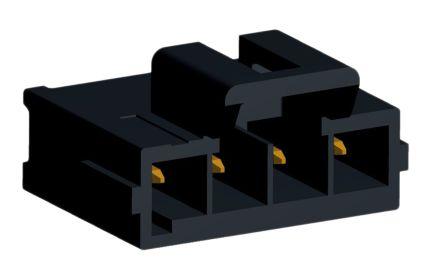 Molex Ultra-Fit 172286, 4 Way, 1 Row, Vertical PCB Header