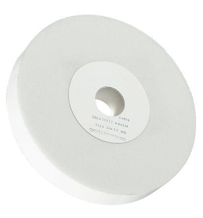 Aluminium Oxide Medium Grinding Wheel 60 Grit, 3100rpm, 200mm x 30mm x 32mm Bore product photo