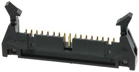 Hirose, HIF3B, 3B, 34 Way, 2 Row, Right Angle PCB Header