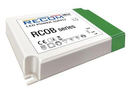 Recom RCOB-700, Constant Current LED Driver 31W 25 → 44V 700mA, RCOB Series