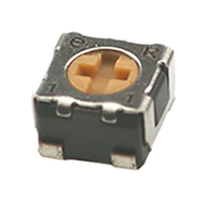 1kΩ SMD Trimmer Potentiometer 0.125W Top Adjust Copal Electronics ST-32 Series