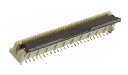 Molex Easy-On 501951 Series 0.5mm Pitch 50 Way Vertical SMT Male FPC Connector, Solder