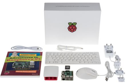 Raspberry Pi 3 Model B SBC Starter Kit