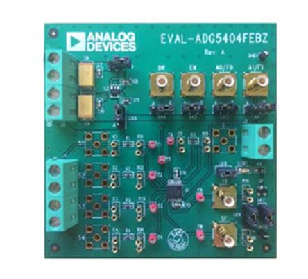 Analog Devices Multiplexer Evaluation Board for ADG5404F, EVAL-ADG5404FEBZ
