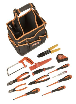 13 Piece Electricians Tool Kit product photo