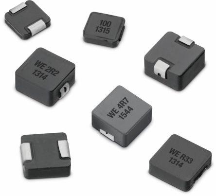 Wurth WE-LHMI Series Type 8040 Shielded Wire-wound SMD Inductor with a Iron  Core, 3 3 μH Moulded 8 25A Idc