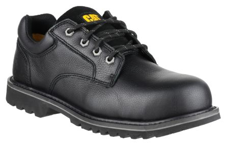 00f1034ecda CAT Electric Lo Black Steel Toe Men Safety Shoes, UK 9, US 10