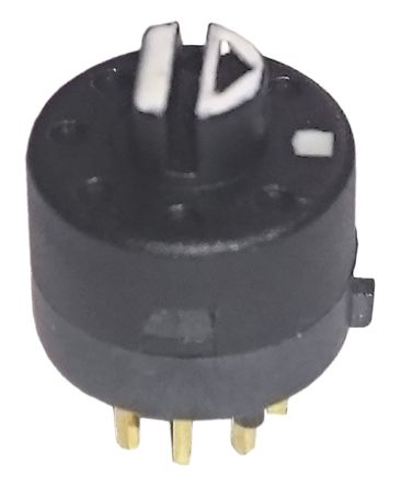 2 Position Rotary Switch, 500 mA, PCB Pin product photo