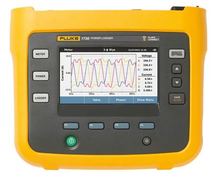 FLUKE-1738/EUS LOGGER ADVANCED VERSION