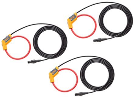 FLUKE-17xx iFlexi 1500A 12 IN, 3 pack Energy Monitor Clamp, For Use With Fluke 1730 Energy Logger