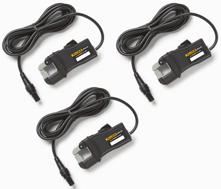 FLUKE-17xx i40s-EL, 3 pack Energy Monitor Clamp, For Use With Fluke 1730 Energy Logger