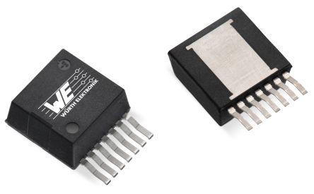 Wurth Elektronik 171012402, 1-Channel DC-DC Power Supply Module 7-Pin, PFM