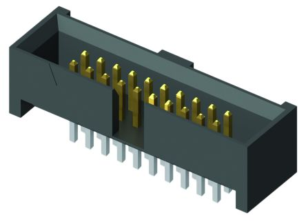 Samtec, SHF, 10 Way, 2 Row, Straight PCB Header