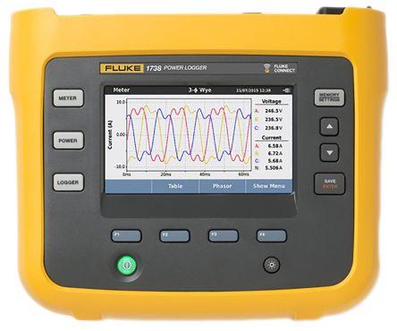 FLUKE 1738 3 Phase Power Logger INTL