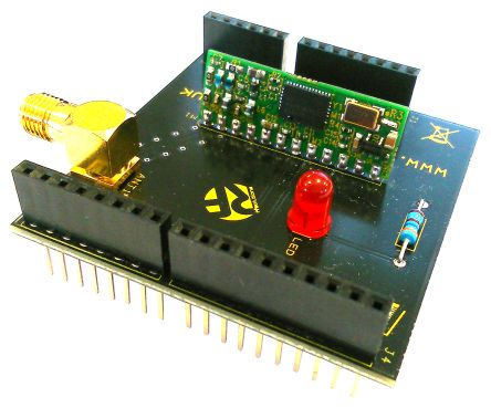 RF Solutions KAPPAM-ARD 868MHz RF Transceiver Shield for Arduino UNO