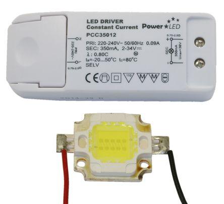 COB LED Kit Warm White + PCC35012 Driver