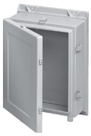 Hoffman Enclosures A24, Gl Reinforced Plastic Wall Box, IP66, 203mm on