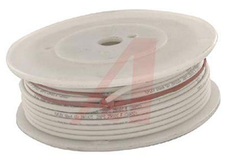 39X1825 WH005 | ALPHA DEARBORN 39X1825 Series White, 30.5m Silicone ...