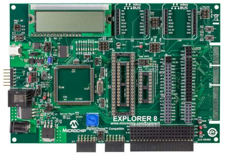Explorer 8 PIC 8-Bit Development Board