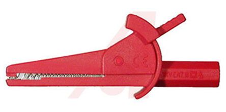 ADAPTIVE INTERCONNECT Crocodile Clip, 30A, Red