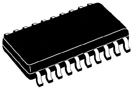 Infineon TLE6220GPAUMA2, Quad-Channel Intelligent Power Switch, Low Side, 3A, -0.3 → 7V 20-Pin, DSO