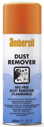 Ambersil 32504-ABHigh Powered Dust Remover Air Duster, 400 ml, Flammable