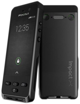 Bartec PIXAVI Impact X ATEX, IECEx Black Smartphone
