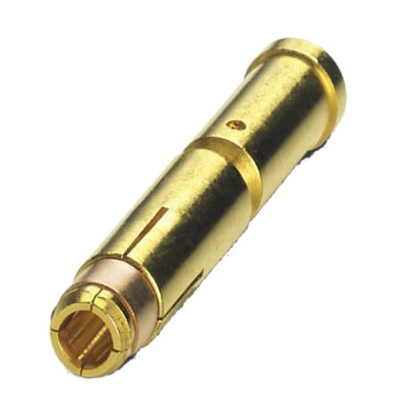 Phoenix Contact size 2mm Female Crimp Contact for use with Circular Connector ,Wire size 2.5 → 4 mm²