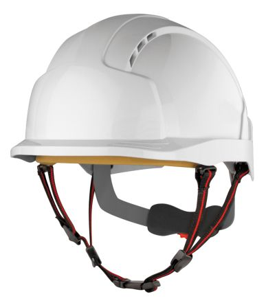 EVOLite White ABS Short Peaked Vented Hard Hat product photo
