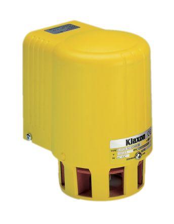Yellow Siren, 110 V ac, 127dB at 1 Metre product photo